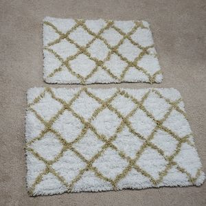 Other - (2) bathroom rugs